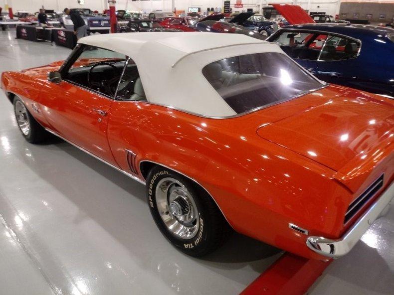 1969 chevrolet camaro rs ss
