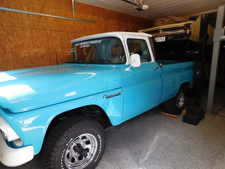 1960 Chevrolet Apache For Sale Allcollectorcars