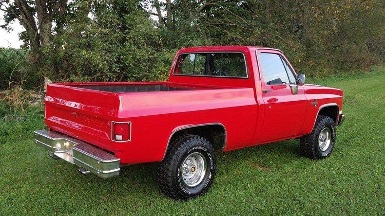 1986 chevrolet k 10 4x4 pickup
