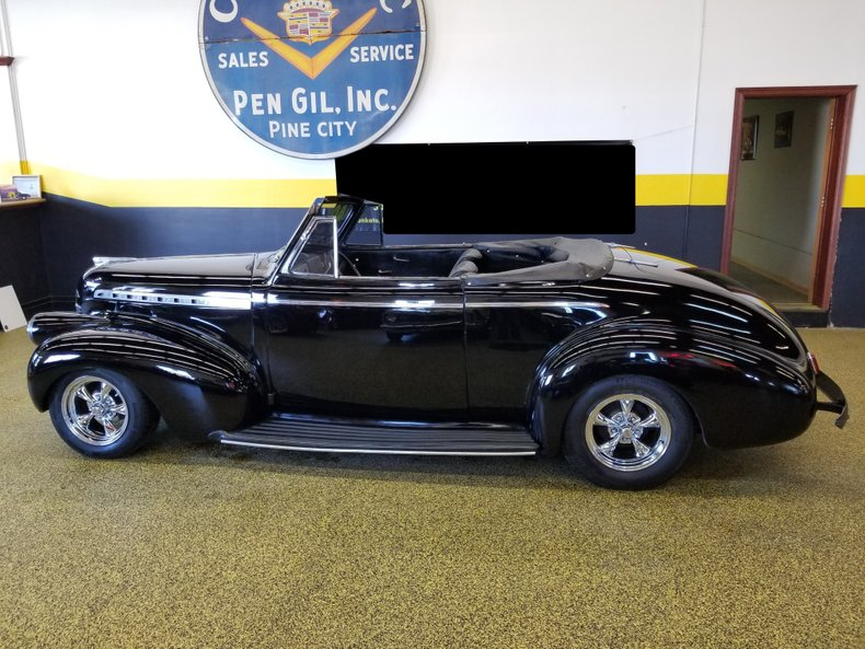 1940 chevrolet convertible street rod