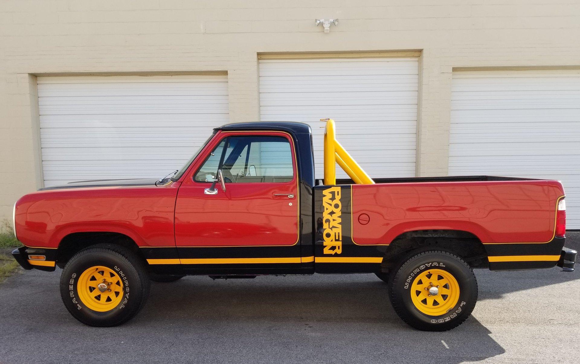 1979 dodge power wagon macho man