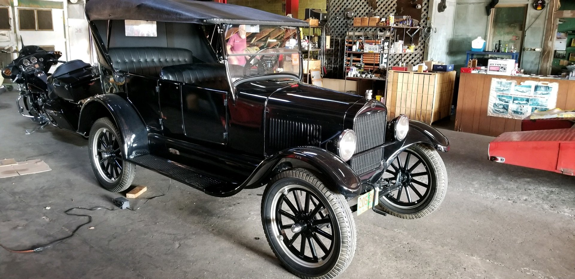 1927 ford model t touring