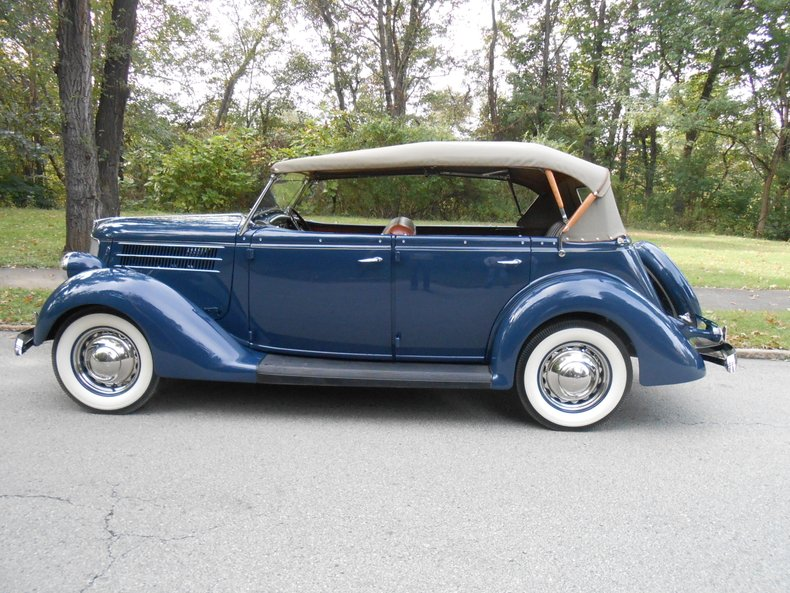 1936 ford phaeton deluxe