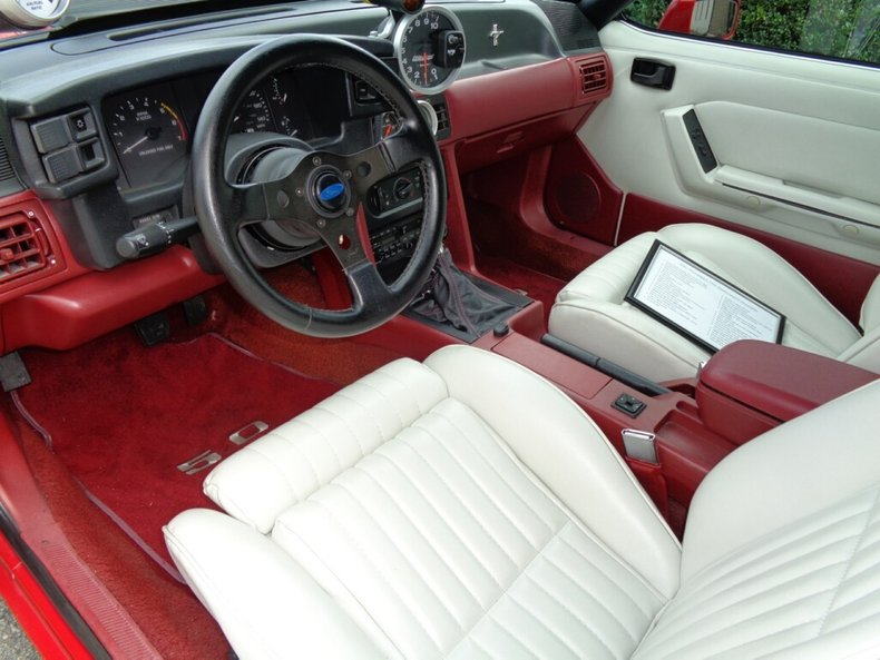 1990 ford mustang lx 25th anniversary convertible
