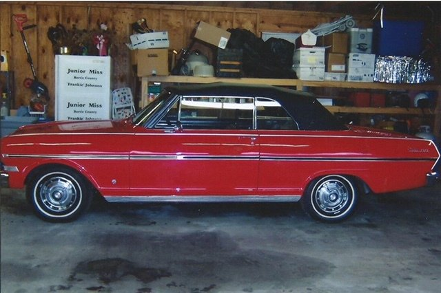 1963 chevrolet chevy ii ss
