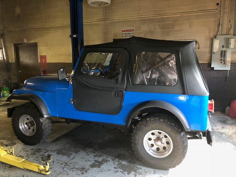 1981 American Jeep CJ7