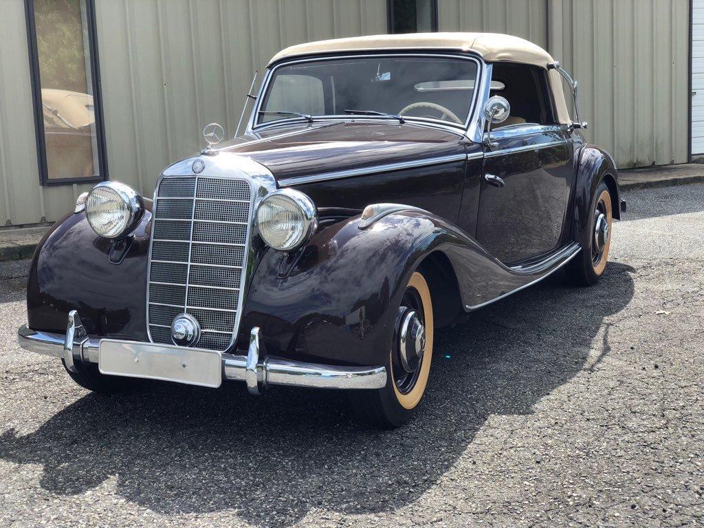 1950 mercedes 170 s