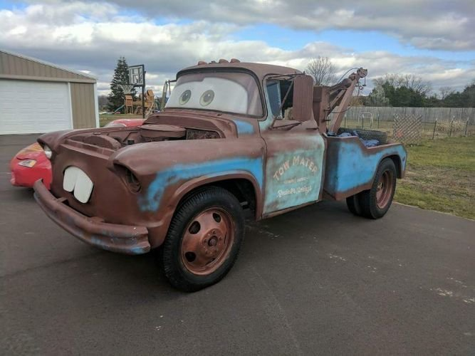 1957 chevrolet 3800 tow mater