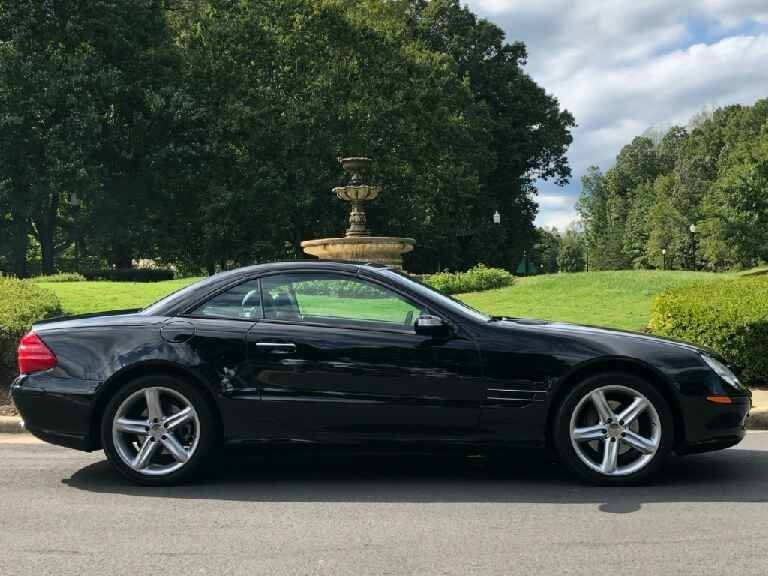 2004 mercedes benz sl500