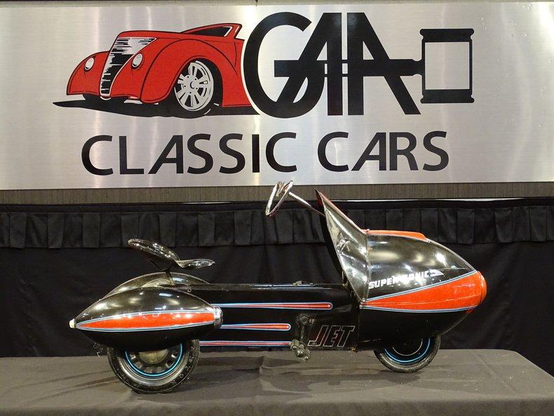 Super Sonic Jet Pedal Car