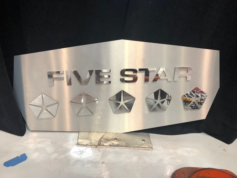 Five Star Chrysler Sign