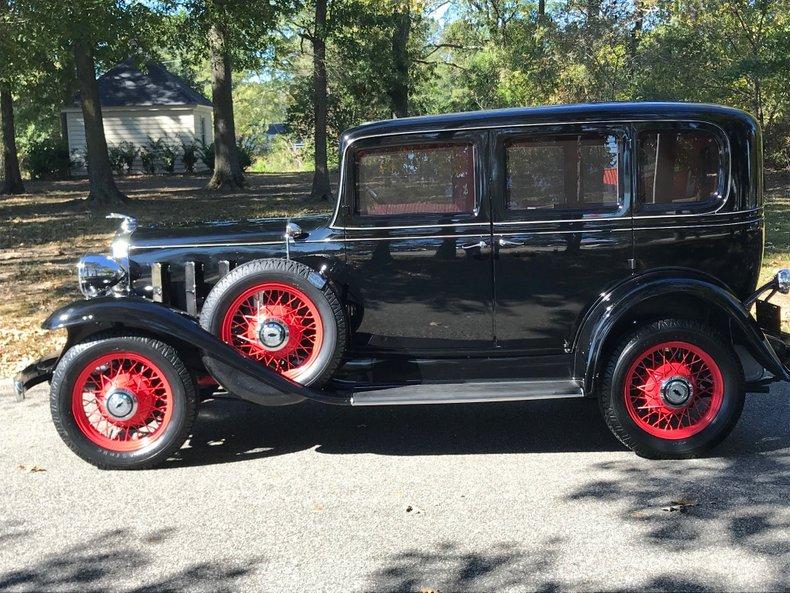 1932 chevrolet 4 door sedan