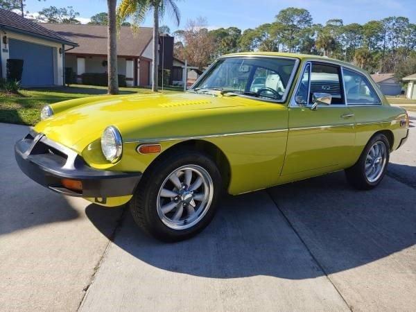 1974 MG B-GT
