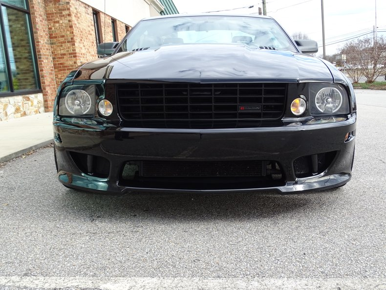 2007 ford saleen mustang