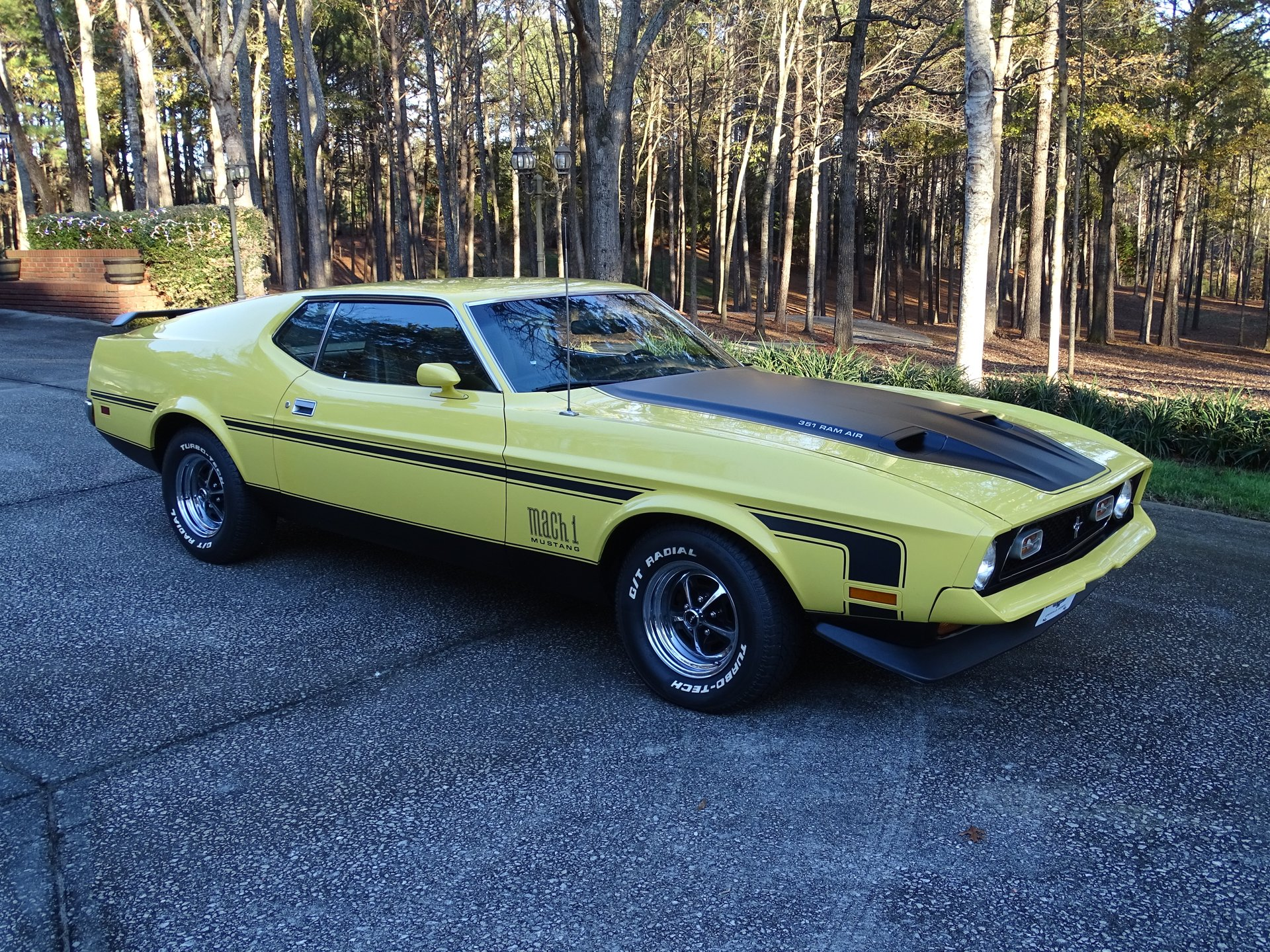 1972 Ford Mustang Mach 1 Fastback