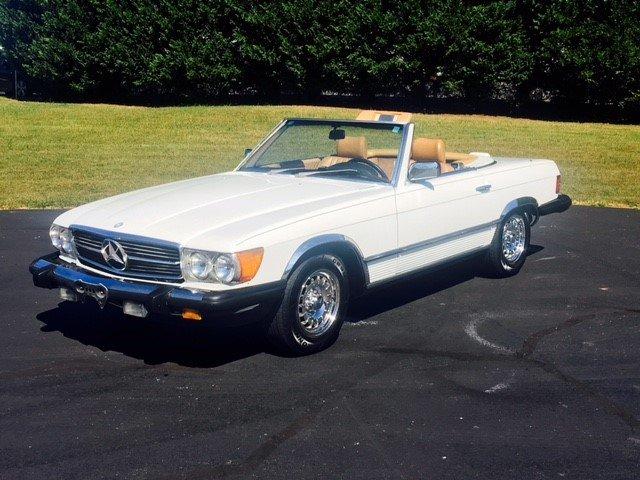 1985 mercedes benz 380 sl