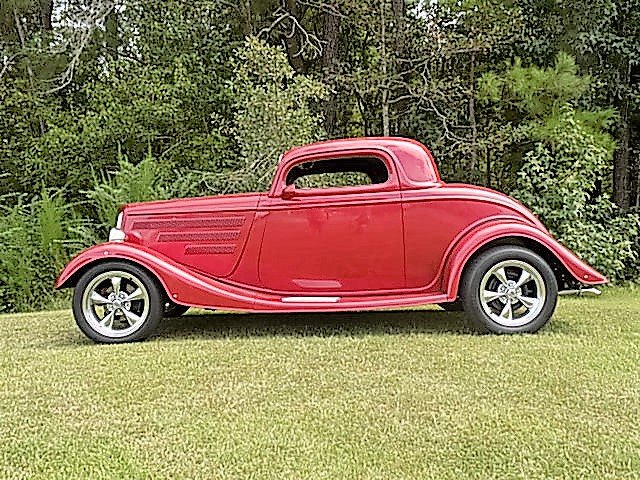 1934 ford streetrod coupe