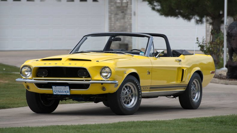 1968 ford shelby gt500 kr