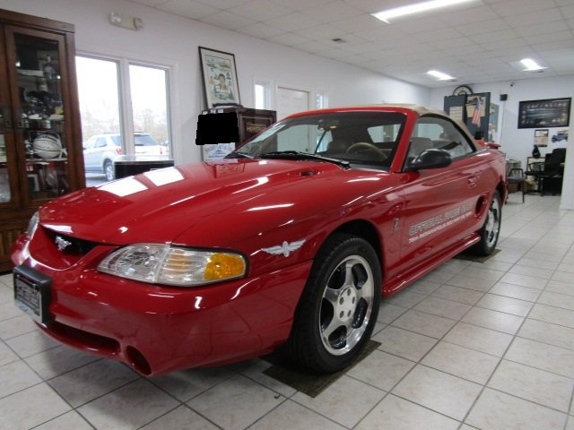 1994 ford mustang indy pace car corba