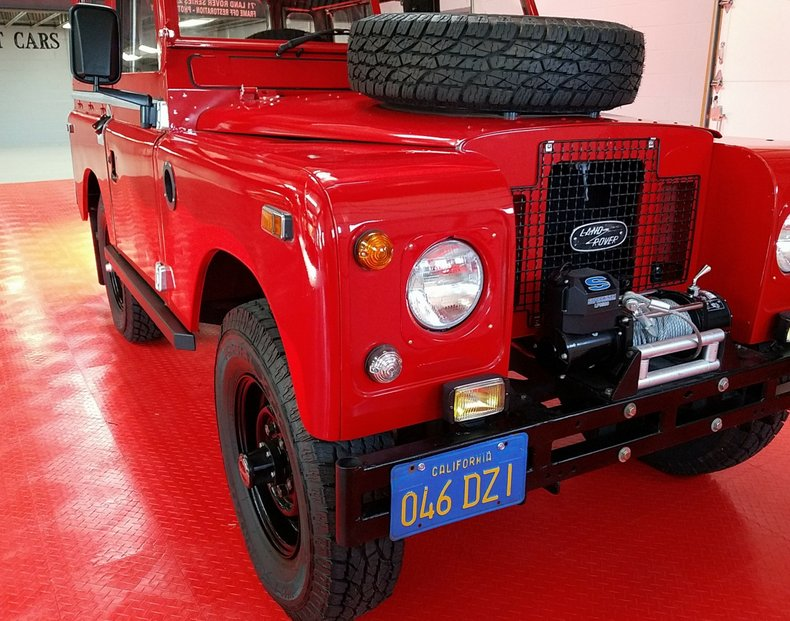 1971 land rover defender series ii