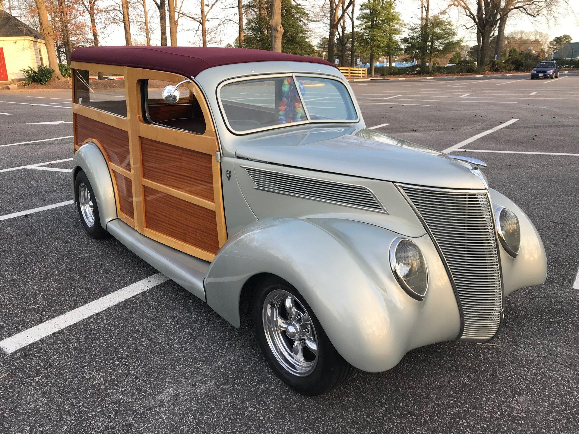 1937 ford woody wagon