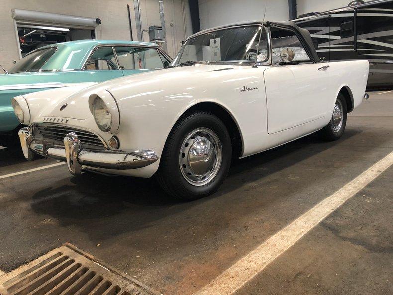 1961 Sunbeam Alpine Gaa Classic Cars
