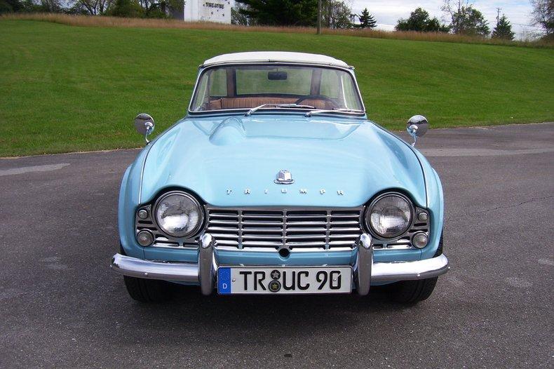 1963 Triumph TR4   GAA Classic Cars