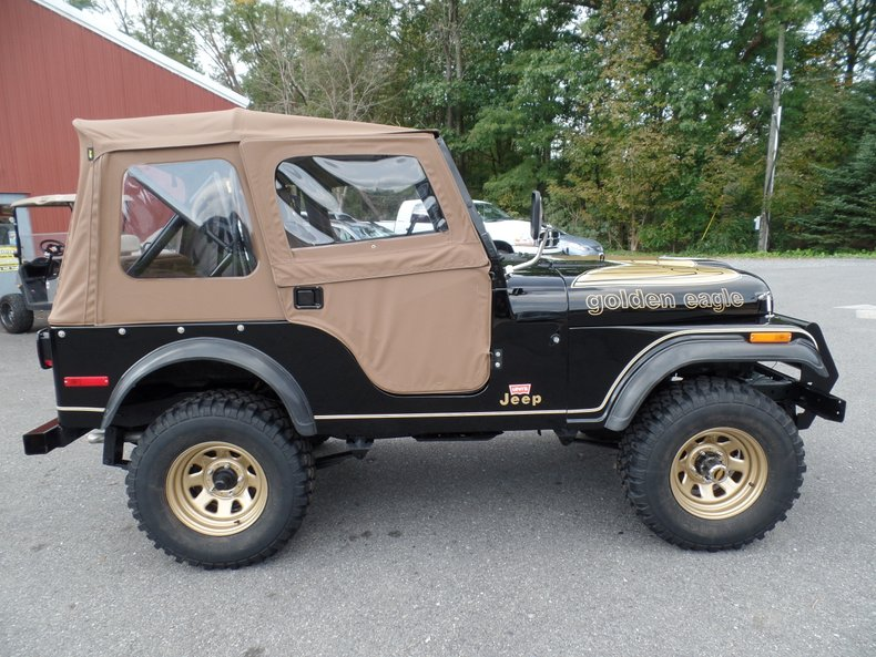 1978 jeep cj 5 golden eagle