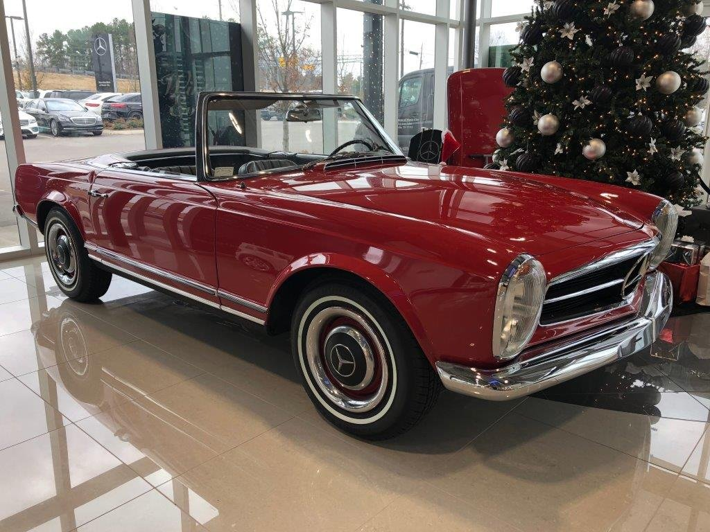 1965 mercedes 230 sl