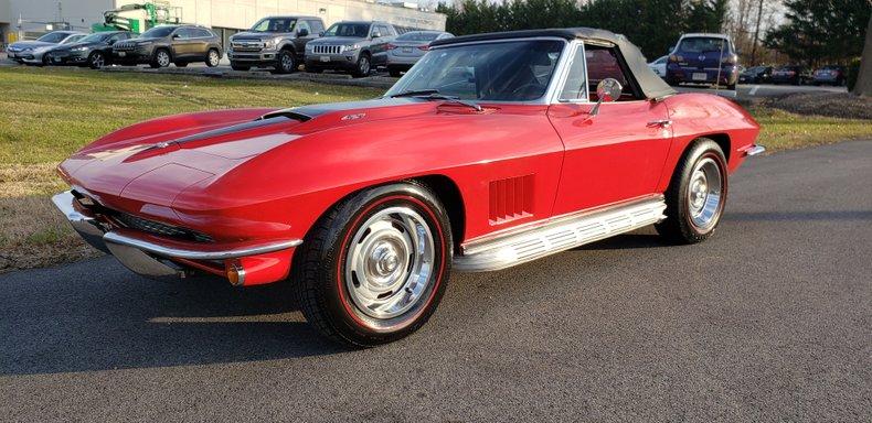 1967 chevrolet corvette 427 roadster