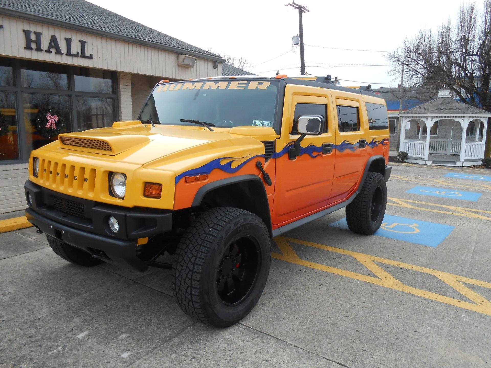 2003 hummer h2 custom