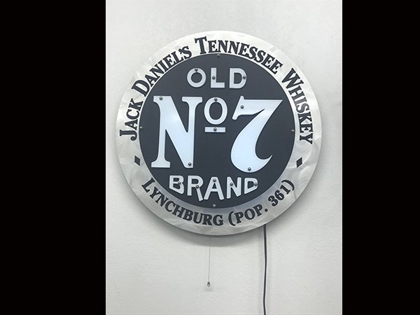 Jack Daniels Tennessee Whiskey Lighted Sign