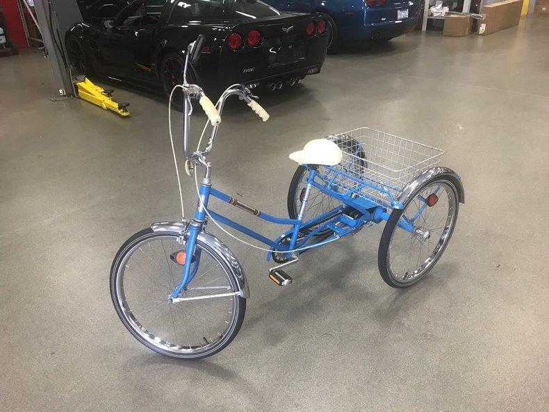 Blue Trike with Basket