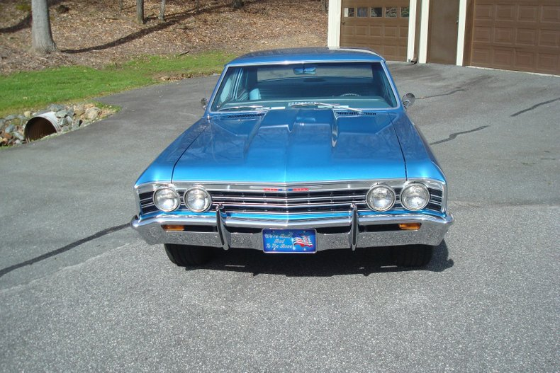 1967 chevrolet chevelle 300 deluxe 2 door post