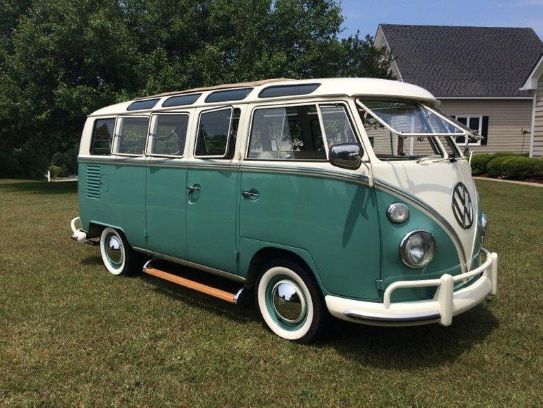 1964 Volkswagen 21 Window Bus 3