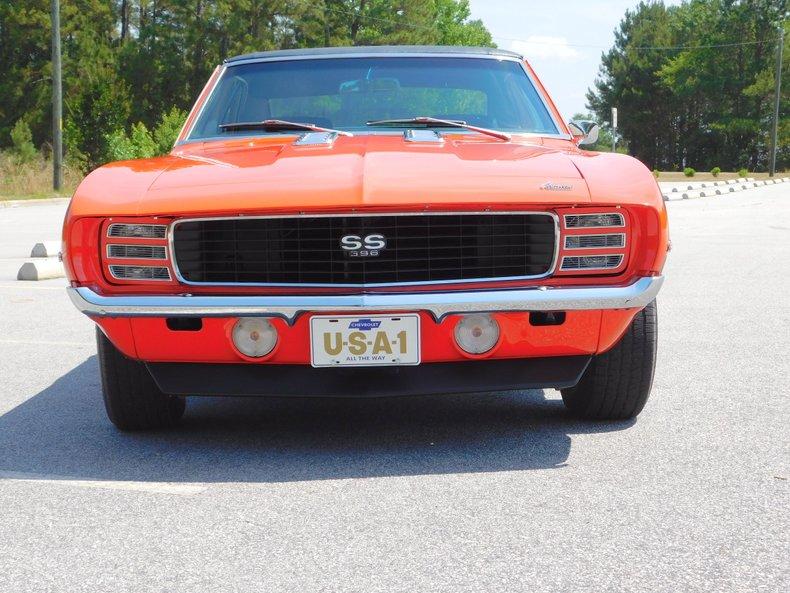 1969 chevrolet camaro ss rs