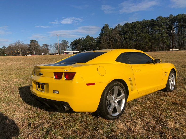 2010 chevrolet camaro ss transformers edition