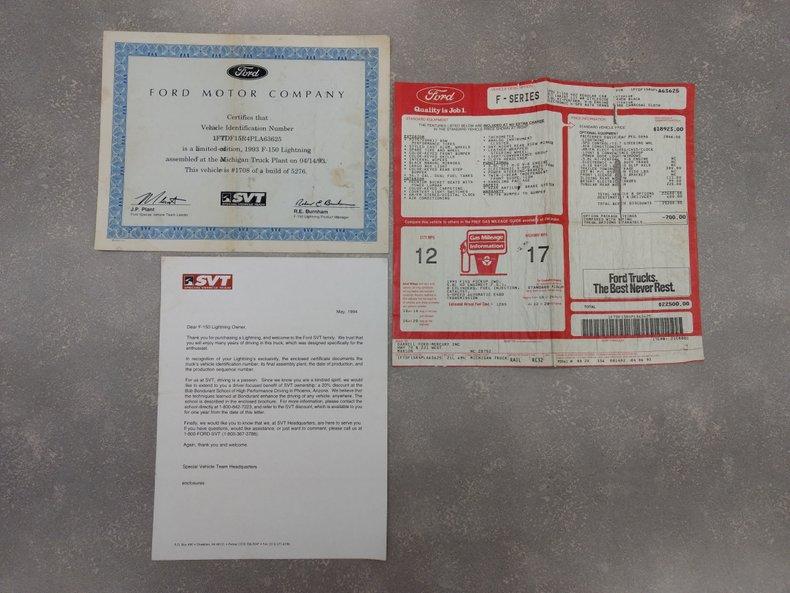 1993 Ford F150 Lightning XLT Lariat For Sale
