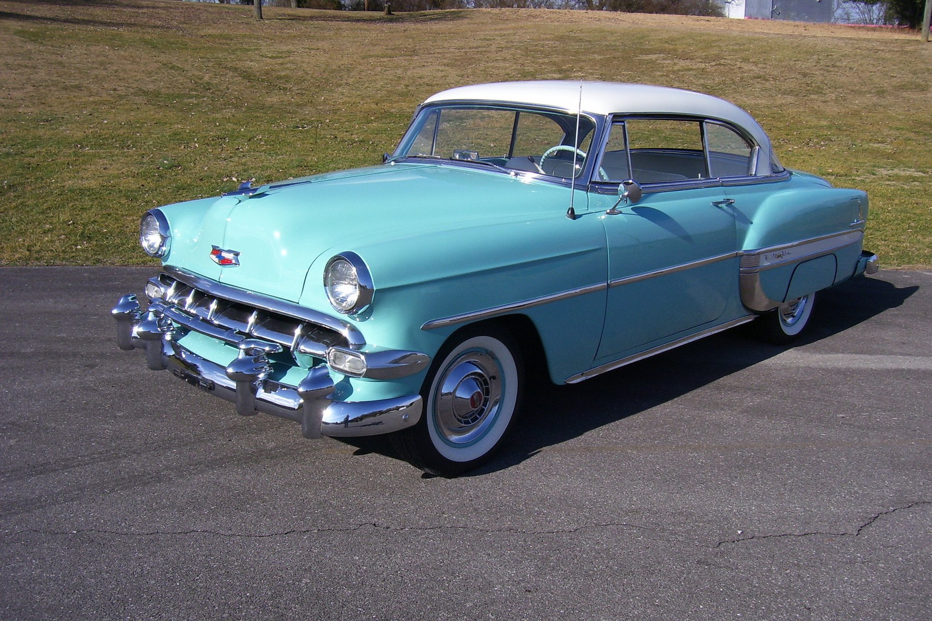 1954 chevrolet bel air sport coupe