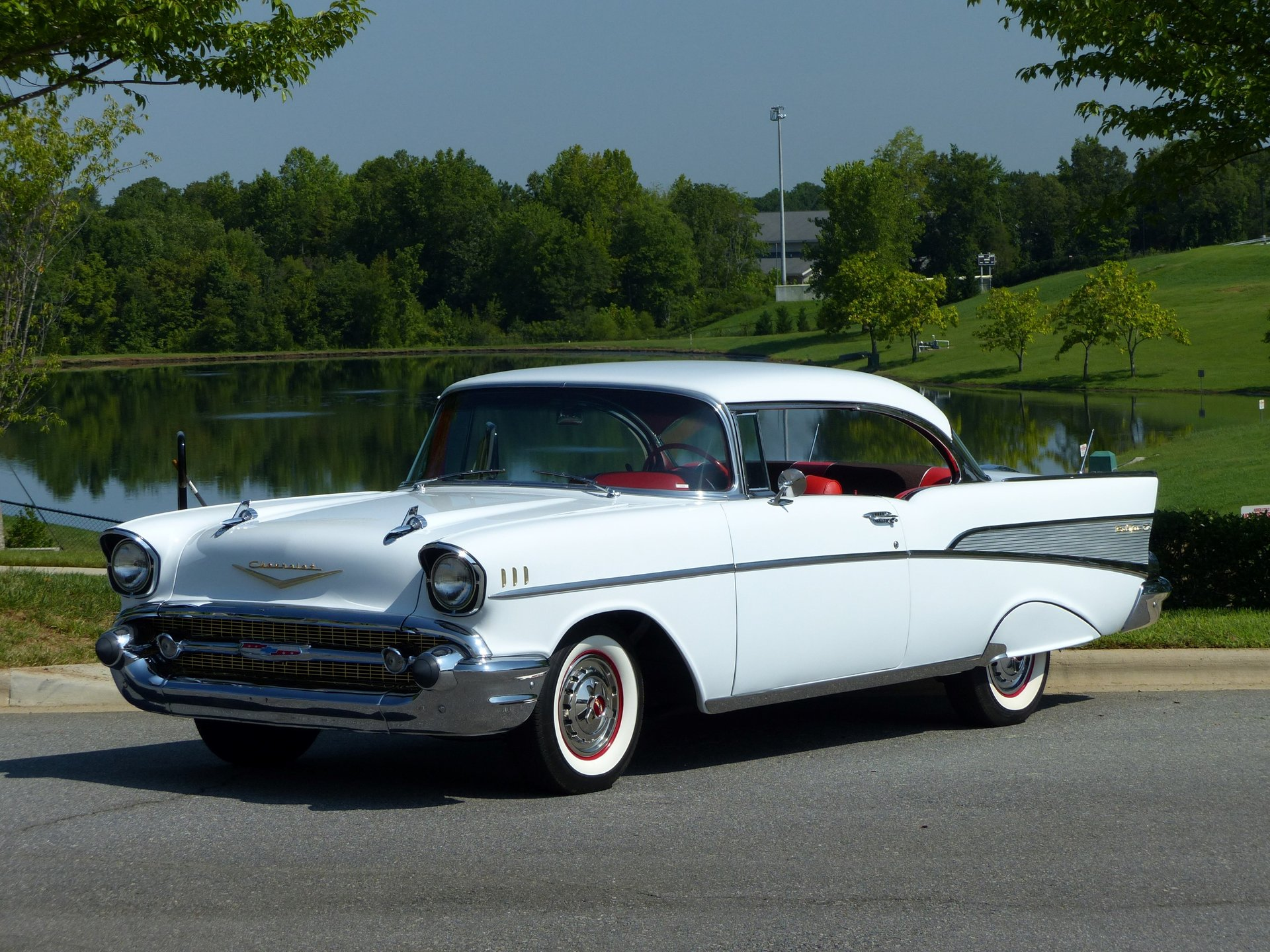 1957 chevrolet 210 sports coupe