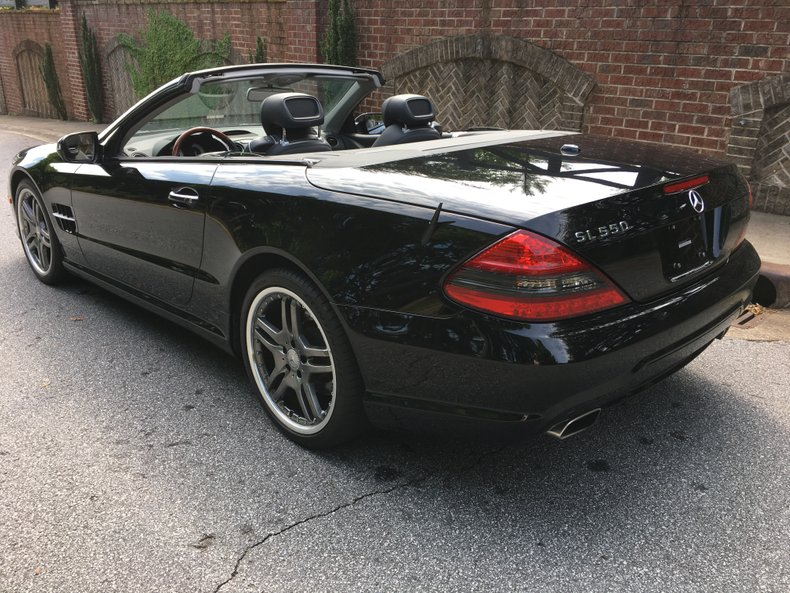 2009 mercedes benz sl550