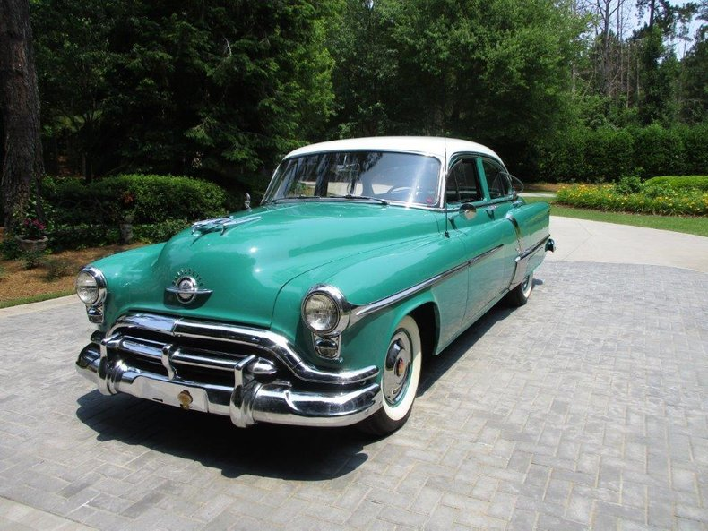 1952 oldsmobile 98 deluxe