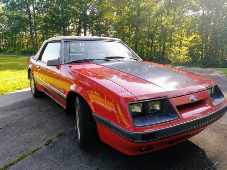 1986 ford mustang gt 5 0