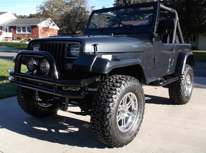 1990 jeep wrangler custom