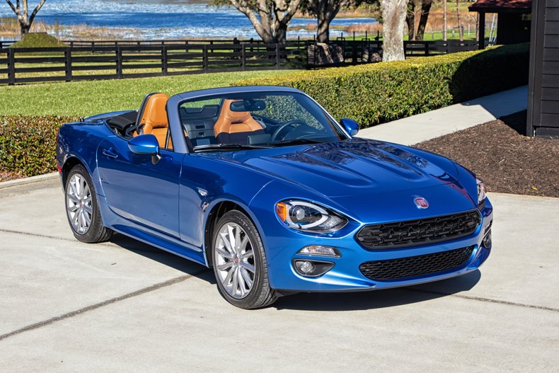 2017 Fiat 124 Spider Lusso For Sale