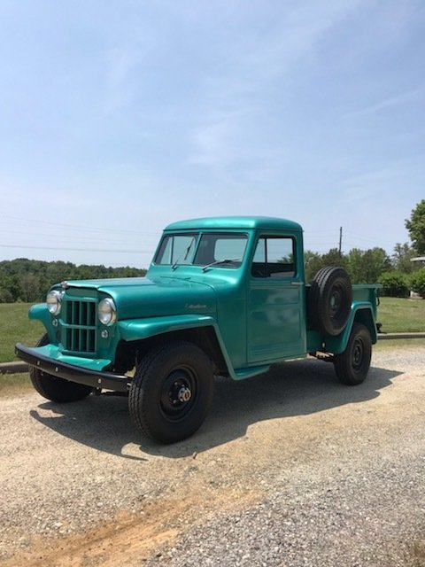 1959 willys jeep truck