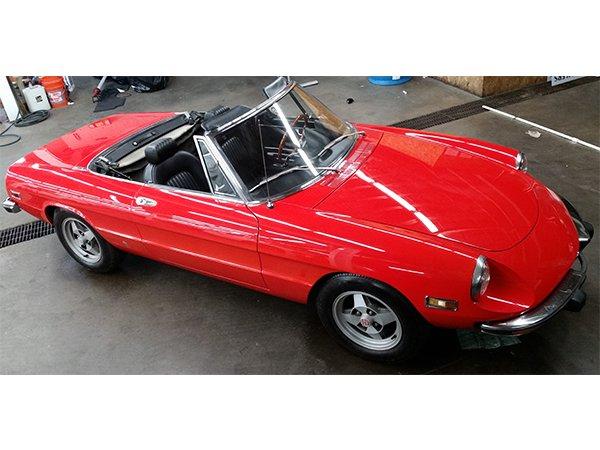 1973 alfa romeo veloce spyder