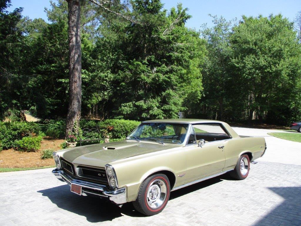 1965 pontiac gto sport coupe