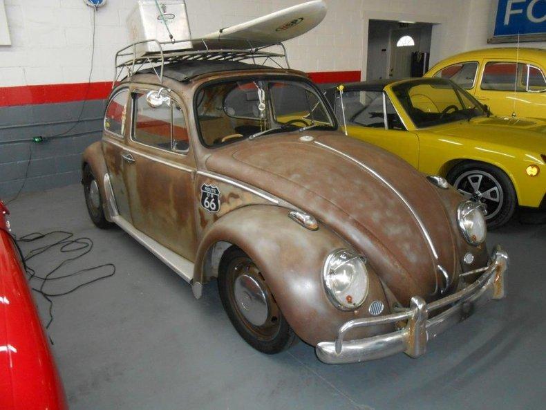 1973 volkswagen beetle rat rod