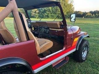 1986 american jeep cj7 laredo